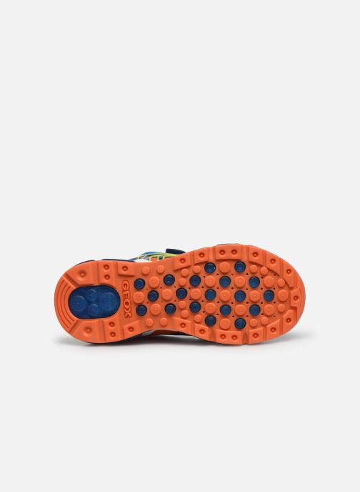 Sneakers Geox J Android Boy J0244C Blauw boven