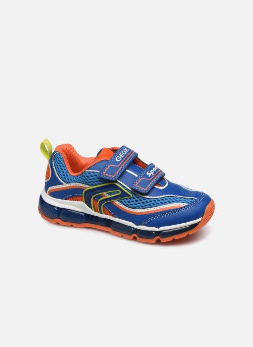 Sneakers Geox J Android Boy J0244C Blauw detail