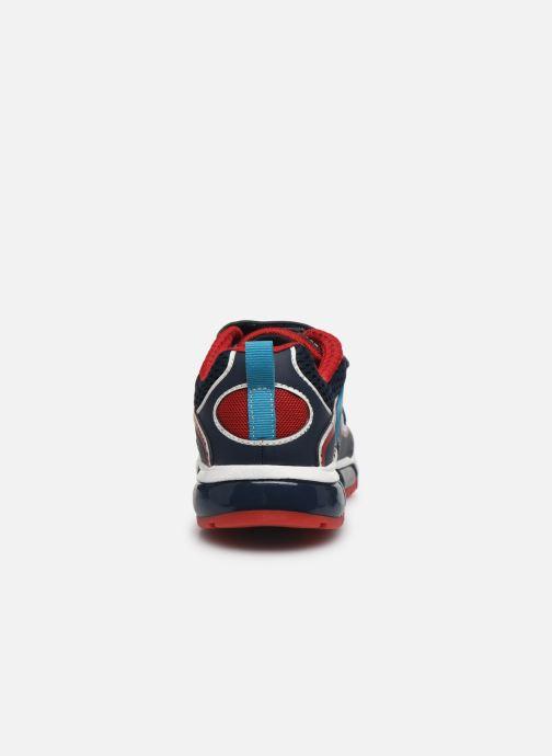Sneakers Geox J Android Boy J0244C Blauw rechts