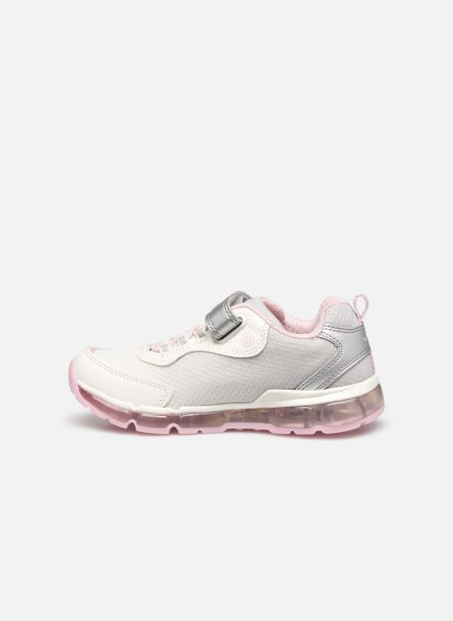 Trainers Geox J Android Girl J0245A Silver front view