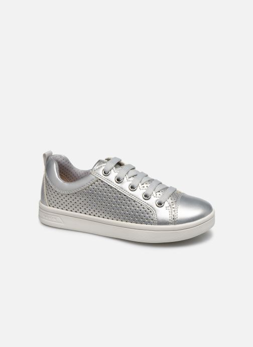 Trainers Geox J Djrock Girl J024MA Silver detailed view/ Pair view