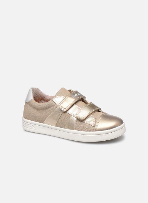 Sneakers Geox J Djrock Girl J024MC Oro e bronzo vedi dettaglio/paio
