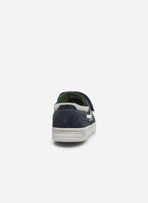 Zapatos con cordones Geox J Djrock Boy J025VA Azul vista lateral derecha
