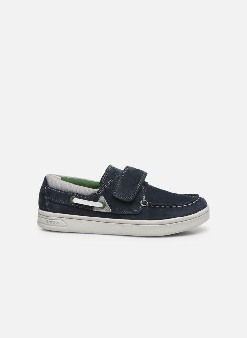 Chaussures à lacets Geox J Djrock Boy J025VA Bleu vue derrière