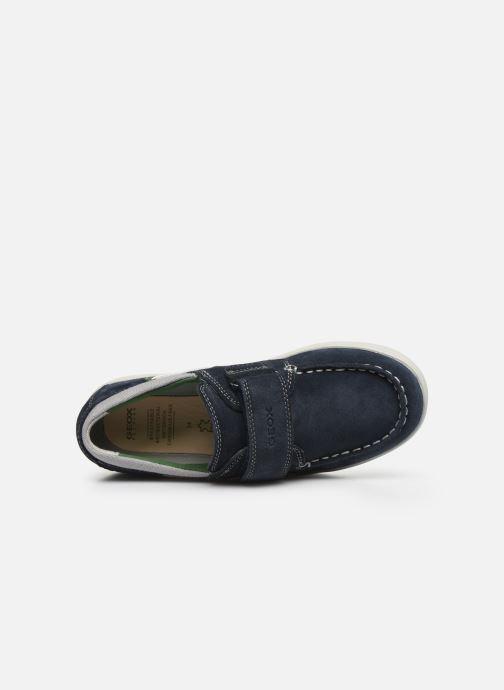 Chaussures à lacets Geox J Djrock Boy J025VA Bleu vue gauche