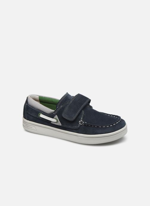 Zapatos con cordones Geox J Djrock Boy J025VA Azul vista de detalle / par