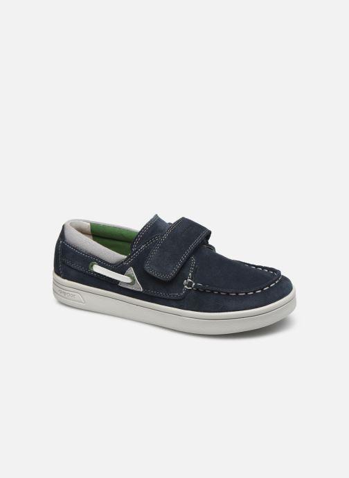 Chaussures à lacets Geox J Djrock Boy J025VA Bleu vue détail/paire
