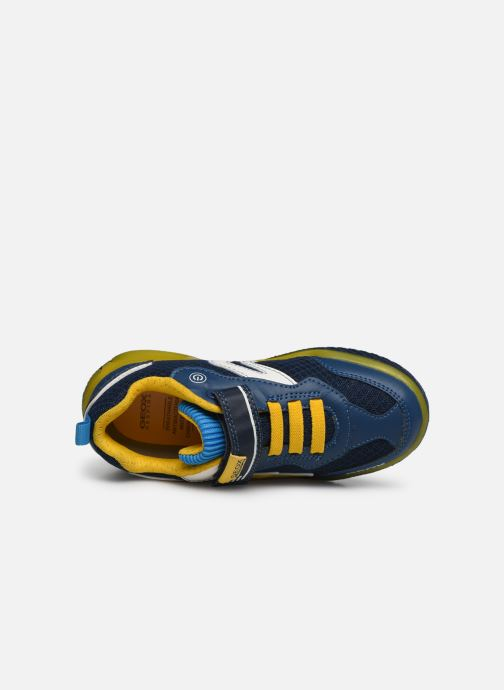 Sneakers Geox J Inek Boy J029CB Blauw links