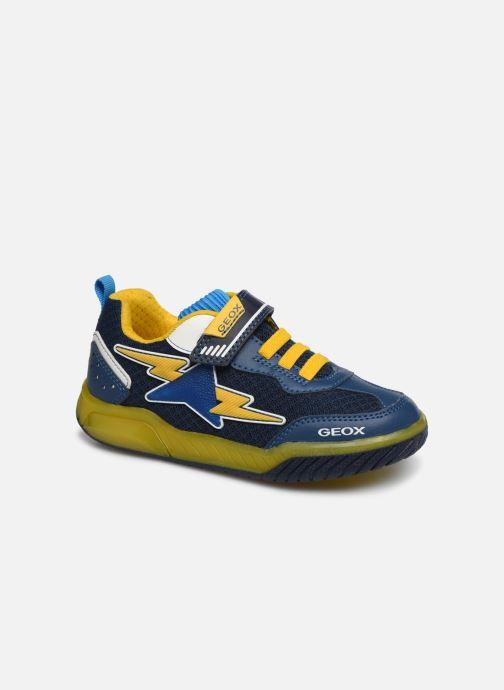 Baskets Geox J Inek Boy J029CB Bleu vue détail/paire