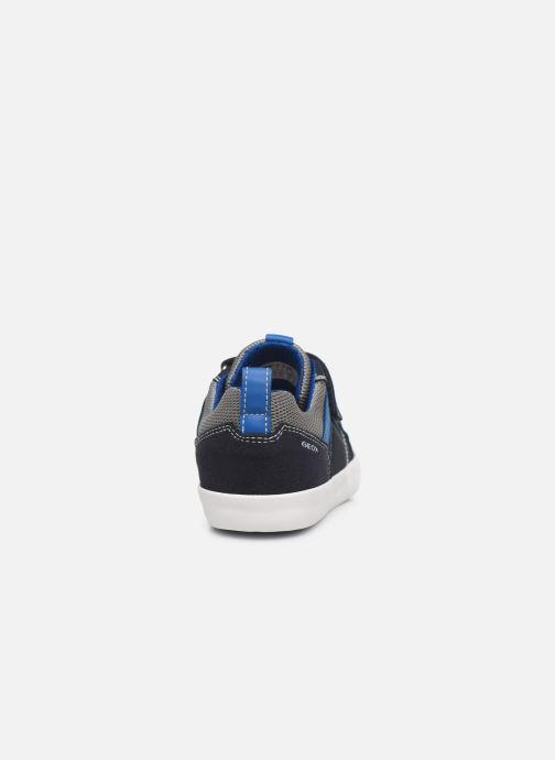 Sneaker Geox J Kilwi Boy J02A7E blau ansicht von rechts