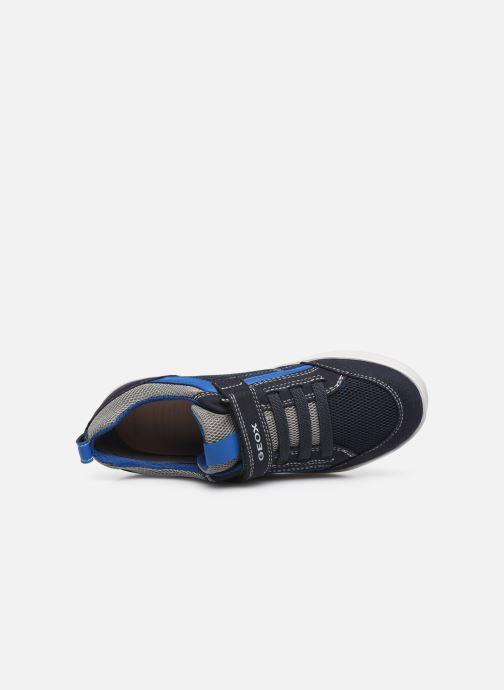 Sneaker Geox J Kilwi Boy J02A7E blau ansicht von links
