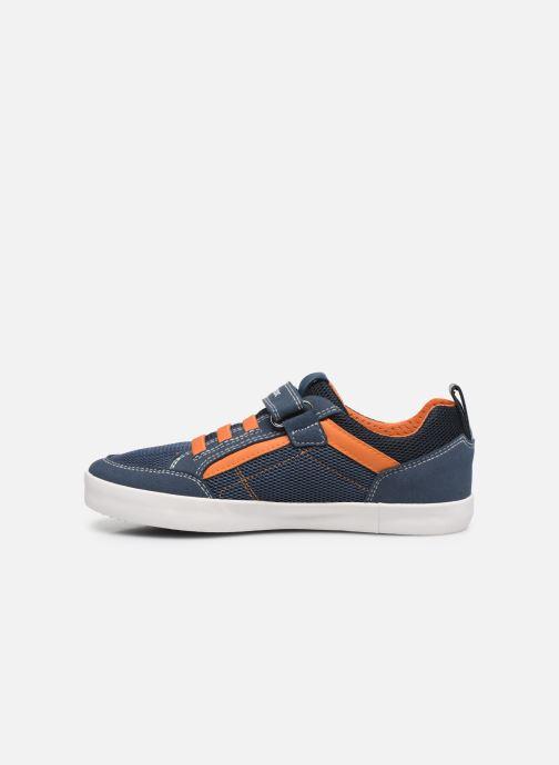 Sneakers Geox J Kilwi Boy J02A7E Blauw voorkant
