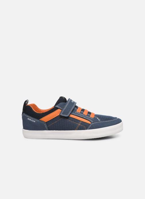 Sneaker Geox J Kilwi Boy J02A7E blau ansicht von hinten