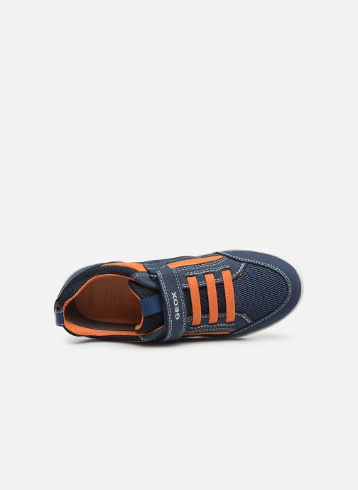 Sneakers Geox J Kilwi Boy J02A7E Blauw links