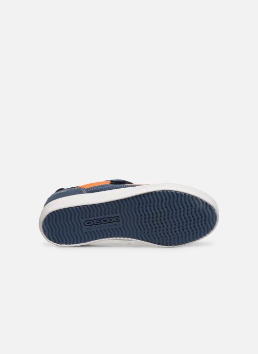 Sneaker Geox J Kilwi Boy J02A7E blau ansicht von oben