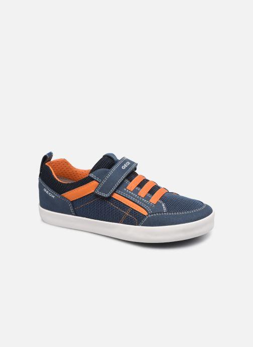 Sneaker Geox J Kilwi Boy J02A7E blau detaillierte ansicht/modell