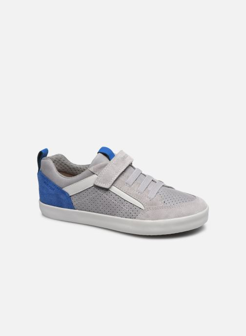 Trainers Geox J Kilwi Boy J02A7E Grey detailed view/ Pair view
