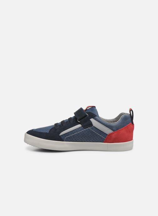 Sneakers Geox J Kilwi Boy J02A7E Azzurro immagine frontale