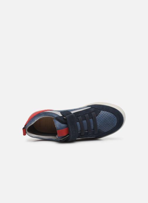 Sneakers Geox J Kilwi Boy J02A7E Azzurro immagine sinistra