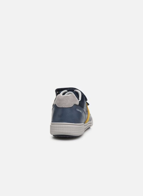 Trainers Geox J Poseido Boy J02BCA Blue view from the right