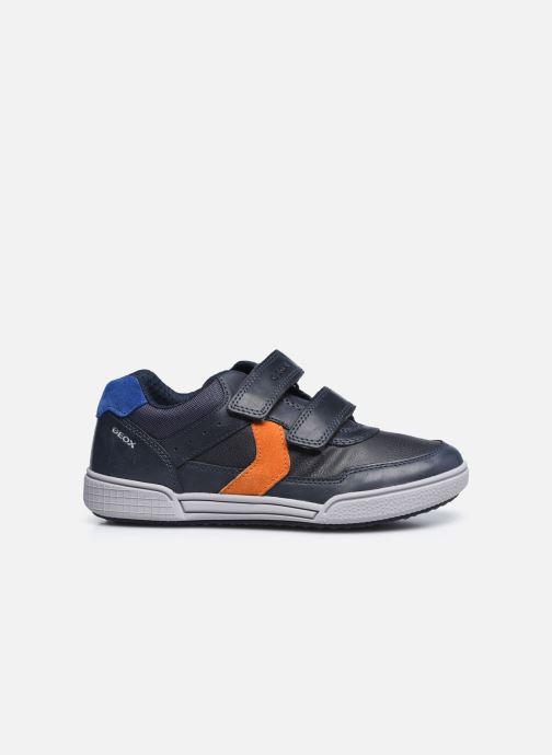 Sneaker Geox J Poseido Boy J02BCA blau ansicht von hinten