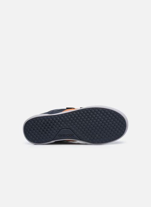 Sneaker Geox J Poseido Boy J02BCA blau ansicht von oben