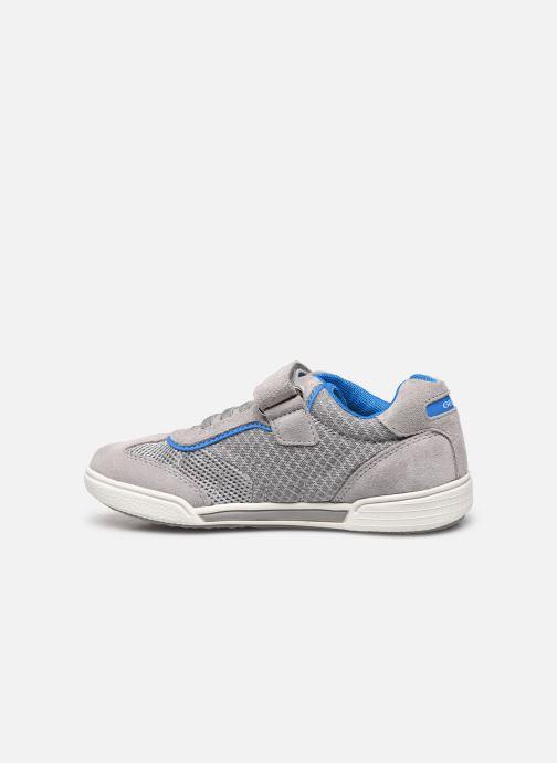 Sneakers Geox J Poseido Boy J02BCD Grigio immagine frontale