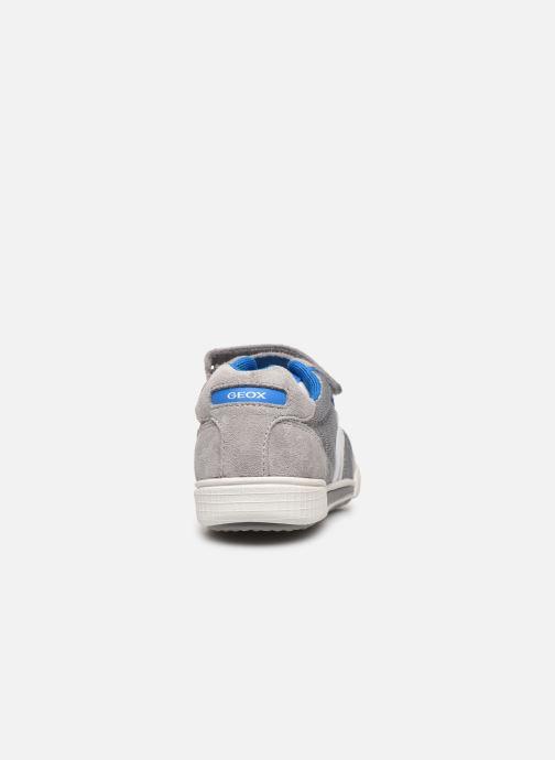 Sneakers Geox J Poseido Boy J02BCD Grigio immagine destra