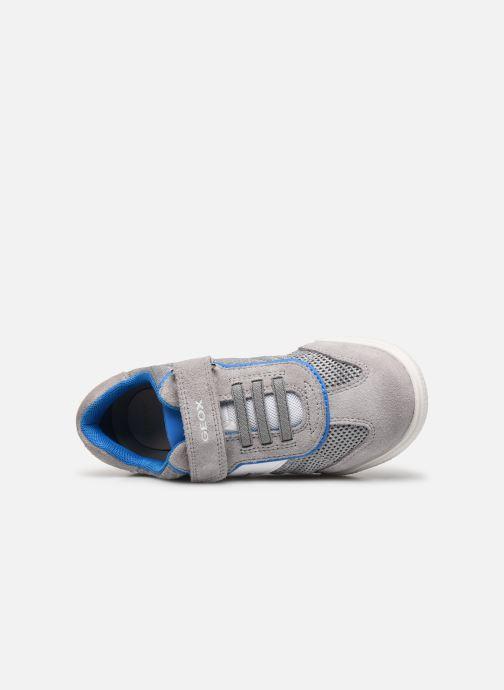 Sneakers Geox J Poseido Boy J02BCD Grigio immagine sinistra