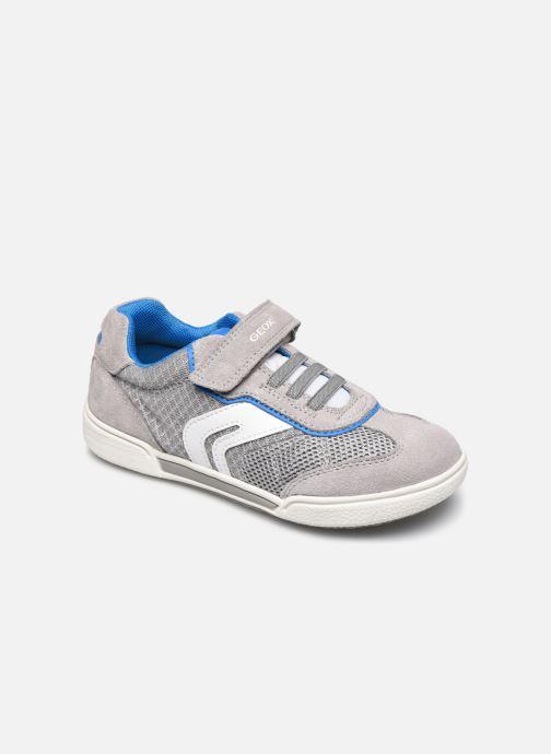 Sneakers Geox J Poseido Boy J02BCD Grigio vedi dettaglio/paio