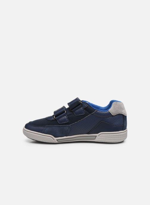 Sneakers Geox J Poseido Boy J02BCF Azzurro immagine frontale
