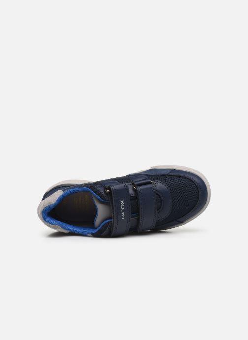 Sneakers Geox J Poseido Boy J02BCF Azzurro immagine sinistra