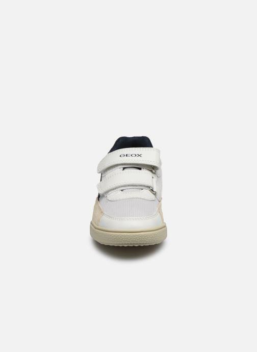 Sneaker Geox J Poseido Boy J02BCF weiß schuhe getragen