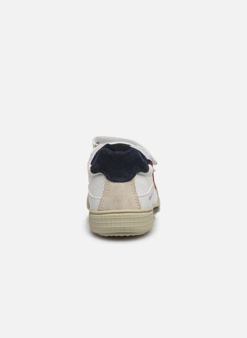 Sneaker Geox J Poseido Boy J02BCF weiß ansicht von rechts