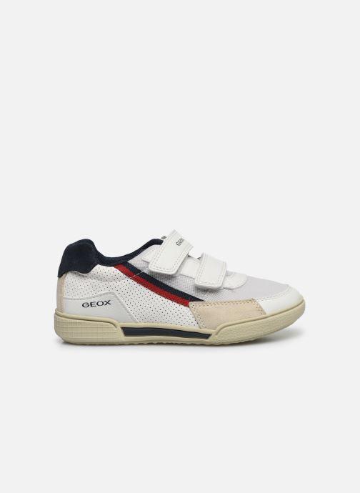Sneaker Geox J Poseido Boy J02BCF weiß ansicht von hinten