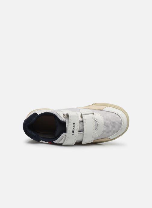 Sneaker Geox J Poseido Boy J02BCF weiß ansicht von links
