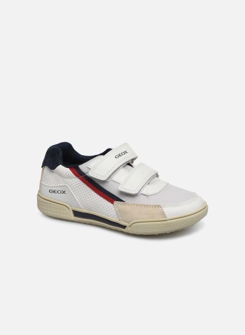 Sneaker Geox J Poseido Boy J02BCF weiß detaillierte ansicht/modell