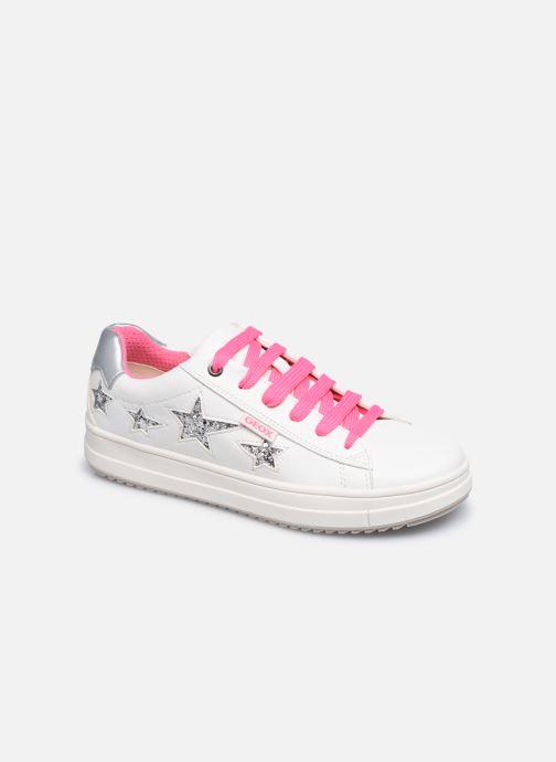 Sneaker Geox J Rebecca Girl J02BDB weiß detaillierte ansicht/modell