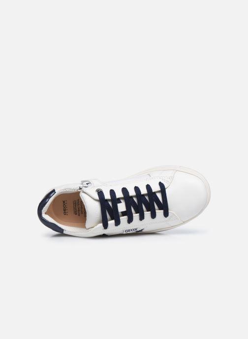 Sneaker Geox J Rebecca Girl J02BDB weiß ansicht von links