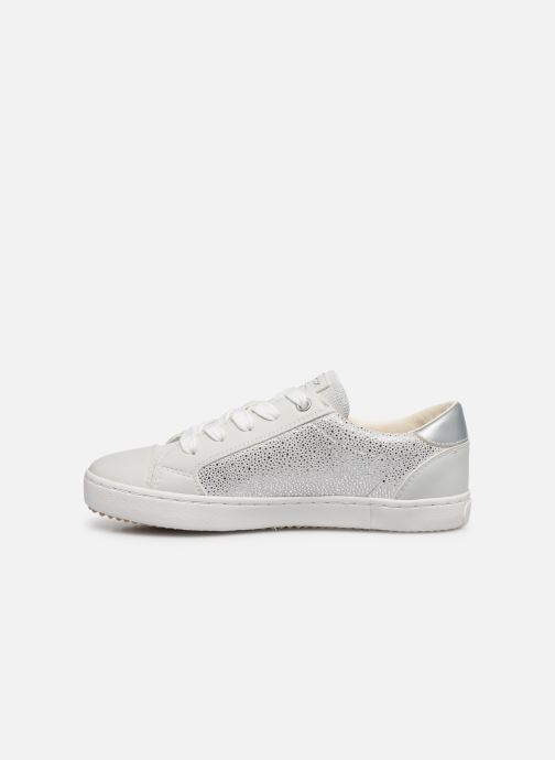 Trainers Geox J Kilwi Girl J02D5B Silver front view