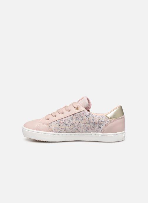 Sneaker Geox J Kilwi Girl J02D5B rosa ansicht von vorne