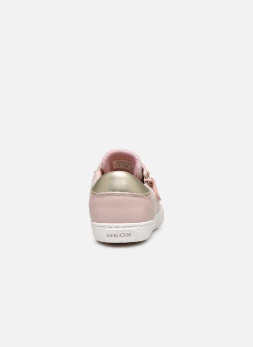 Sneaker Geox J Kilwi Girl J02D5B rosa ansicht von rechts