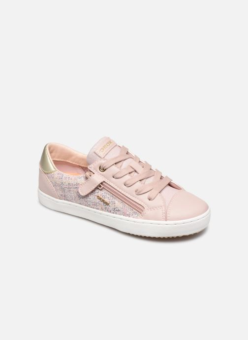 Baskets Geox J Kilwi Girl J02D5B Rose vue détail/paire