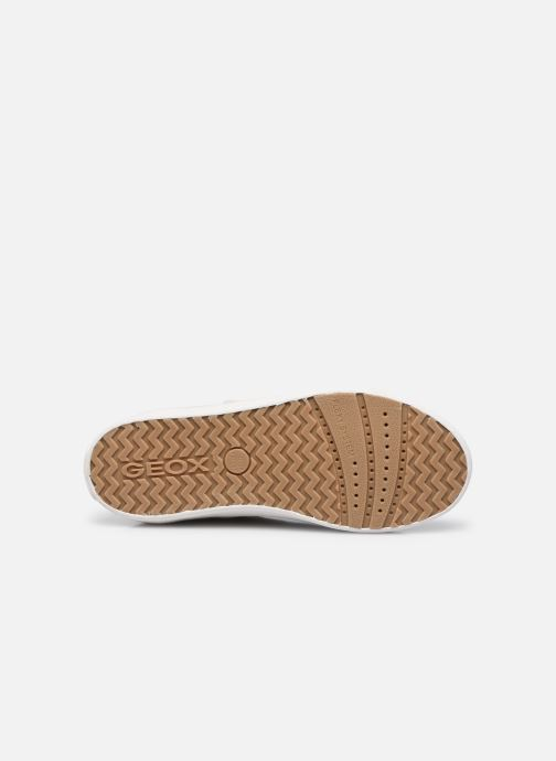 Sneakers Geox J Kilwi Girl J02D5B Bianco immagine dall'alto