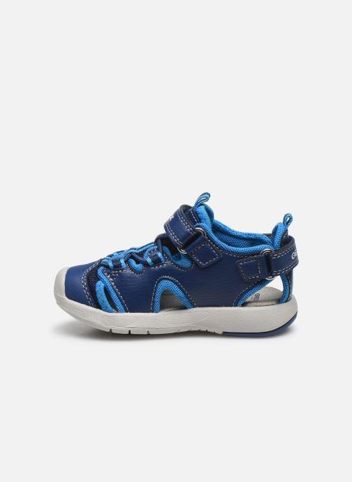 Sandales et nu-pieds Geox B Sandal Multy Boy B020FA Bleu vue face