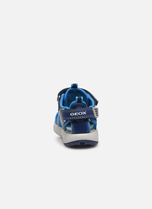 Sandales et nu-pieds Geox B Sandal Multy Boy B020FA Bleu vue droite