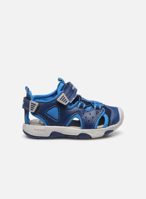 Sandales et nu-pieds Geox B Sandal Multy Boy B020FA Bleu vue derrière