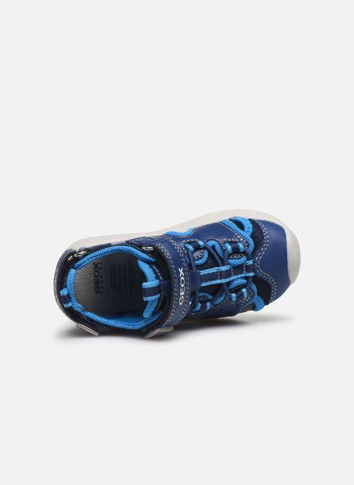 Sandales et nu-pieds Geox B Sandal Multy Boy B020FA Bleu vue gauche