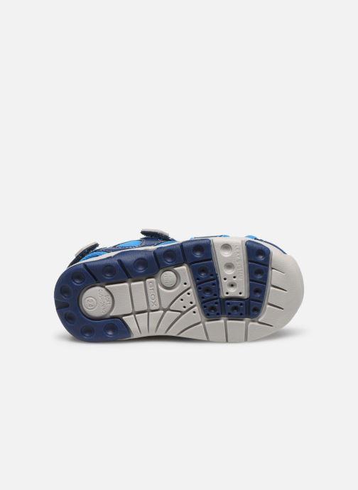 Sandales et nu-pieds Geox B Sandal Multy Boy B020FA Bleu vue haut