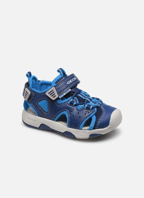 Sandales et nu-pieds Geox B Sandal Multy Boy B020FA Bleu vue détail/paire